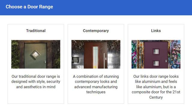 Online Composite Door Designer